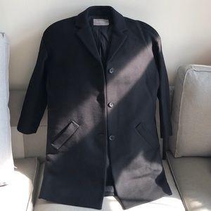 Everlane cocoon coat